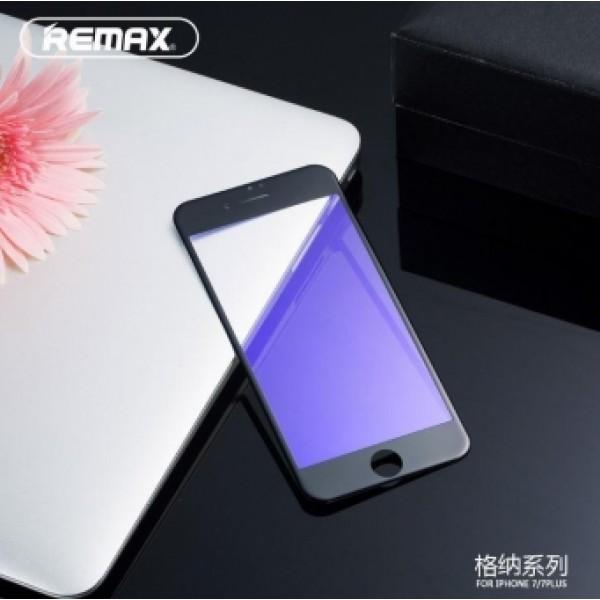 3D Full Remax Извит Стъклен screen protector 0.3 /Черен/ за iPhone 7G 4.7