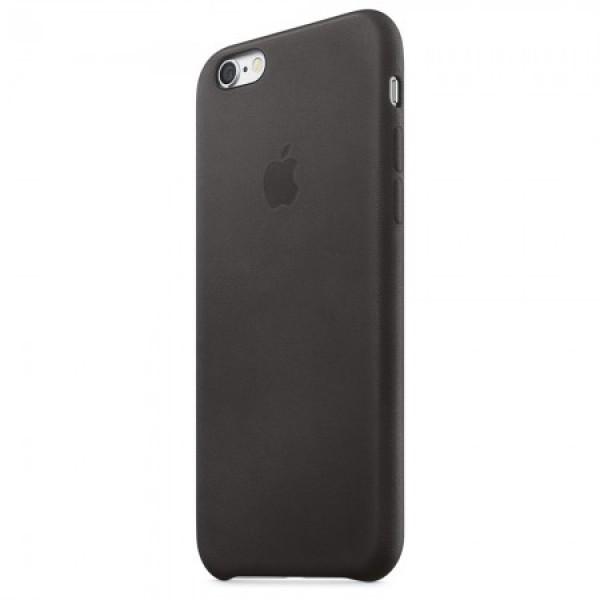 Apple iPhone 6s Leather Case - Black