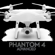 DJI Дрон Phantom 4 Advanced White