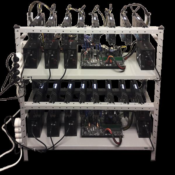 16 x Asus RX570 Налични mining rigs (копачи) Вземи веднага действащ miner!