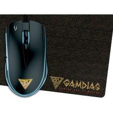 Gamdias геймърска мишка с подложка Gaming Mouse
